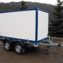 Fahrzeugbau – Produkt: Anhänger-Koffer - Tandemfahrgestell