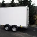 Fahrzeugbau – Produkt: Anhänger-Koffer - Heckflügeltür