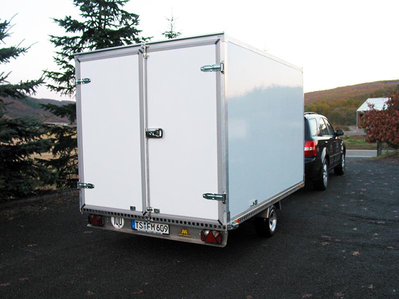 Anhänger Koffer Moser Fahrzeugbau
