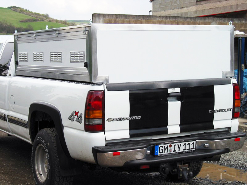 Transportbox für pickup