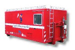 Fahrzeugbau – Produkt: Jugendfeuerwehrcontainer