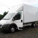 Fahrzeugbau – Produkt: Transportmobil-Kastenaufbau – Basis Citroën Jumper