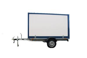 Fahrzeugbau – Produkt: Anhänger für Motorräder
