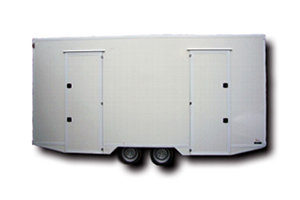 Fahrzeugbau – Produkt: Toilettenanhänger