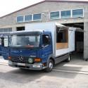 Verkaufsfahrzeuge – Leerfahrzeuge: Verkaufsaufbau / Basis Mercedes Atego