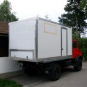 Selbstbau – Produkt: Wohnkabine – Basis Mercedes Unimog