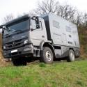 Wohnkabinen / Offroad-LKW - Wohnmobile: Basis Mercedes Atego