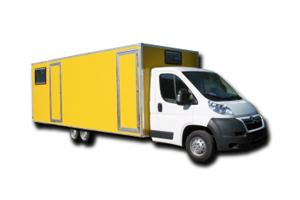Verkaufsfahrzeuge – Leerfahrzeug: Kastenaufbau – Basis Ciroën Jumper