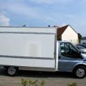 Verkaufsfahrzeuge – Leerfahrzeug: Kastenaufbau – Basis Ford Transit