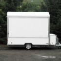 Verkaufsfahrzeuge – Leeranhänger: Kastenaufbau / Exemplar 1