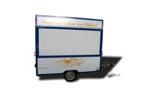 Verkaufsfahrzeuge – Verkaufsanhänger: Backwarenanhänger / Exemplar 2