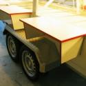 Verkaufsfahrzeuge – Verkaufsanhänger: Feinkostwagen - Kühltheke / Exemplar 1