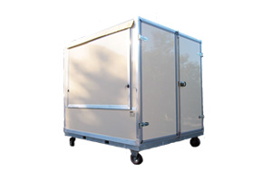 Rollender Imbisscontainer