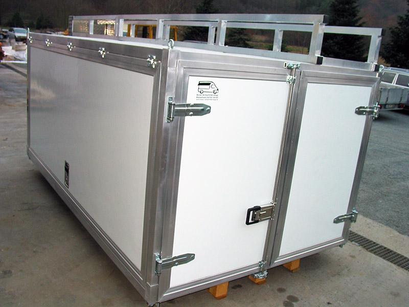 materialcontainer ford transit moser fahrzeugbau. Black Bedroom Furniture Sets. Home Design Ideas