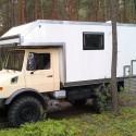 Wohn- und Leerkabinen / Selbstbau – Produkt: Wohnkabine – Basis Mercedes-Unimog