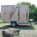 Wohn- und Leerkabinen - Produkt: Offroad-Anhänger / Safari-Wohnaufbau