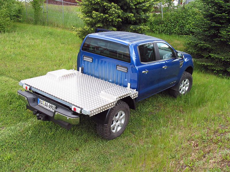 Wohnkabine Ford Ranger Moser Fahrzeugbau