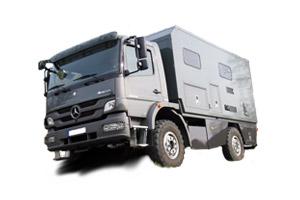 Fahrzeugbau / Wohn- und Leerkabinen – Produkt: Offroad-LKW – Intro