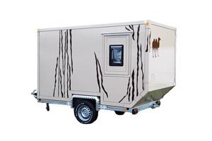 Wohn- und Leerkabinen - Produkt: Offroad-Anhänger Intro / Safari-Wohnanhänger