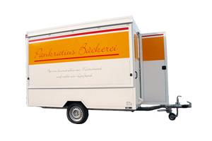 Verkaufsfahrzeuge – Verkaufsanhänger: Backwarenanhänger / Exemplar 6