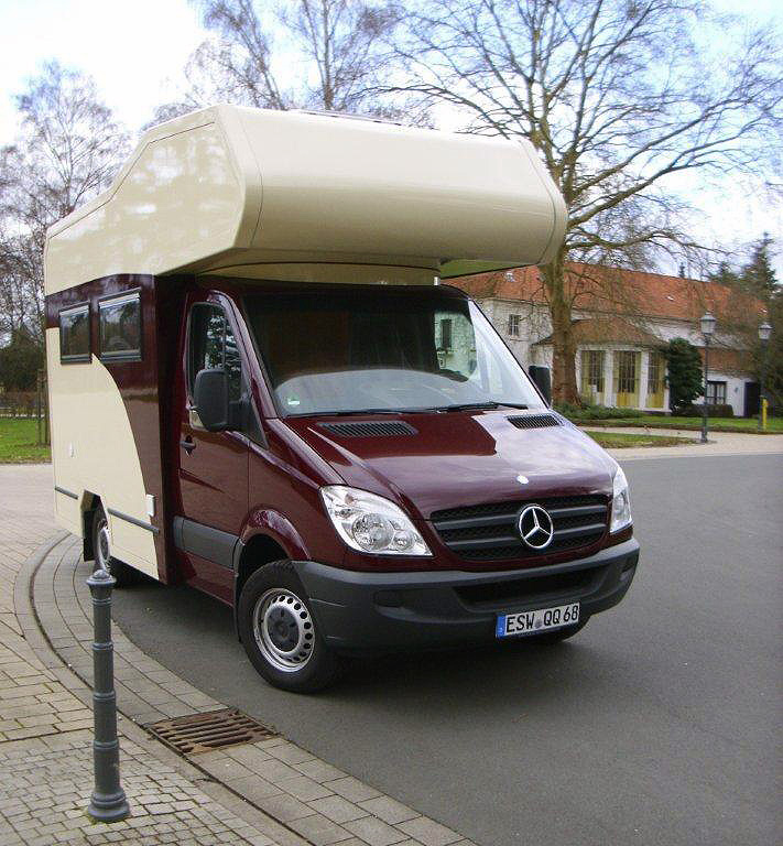 wohnmobil mercedes sprinter moser fahrzeugbau. Black Bedroom Furniture Sets. Home Design Ideas