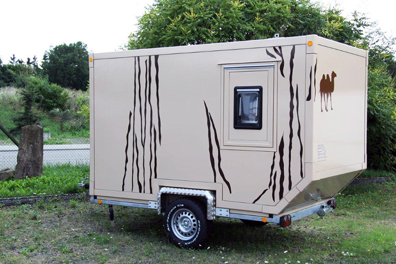 offroad wohnanh nger 1 safari trailer moser fahrzeugbau. Black Bedroom Furniture Sets. Home Design Ideas