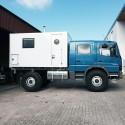 Wohnkabinen / Offroad-LKW - Leerkabine: Mercedes Atego 1222 Allrad