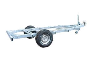 Offroad-Caravan / Produkt: Einachser-Fahrgestell