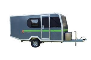 Offroad-Caravan / Produkt: Offroad-Wohnkabine auf Einachser-Fahrgestell