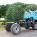 Wohnkabinen / Offroad-LKW - Hilfsrahmen: Basis Steyr 12m18
