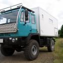 Wohnkabinen / Offroad-LKW - Basis Steyr 12m18