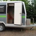 Offroad-Caravan X-Indoor / Produkt: Offroad-Wohnkabine auf Einachser-Fahrgestell / Leeranhänger