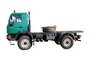 Wohnkabinen / Offroad-LKW - Hilfsrahmen: Basis MAN 10.220 L 2000