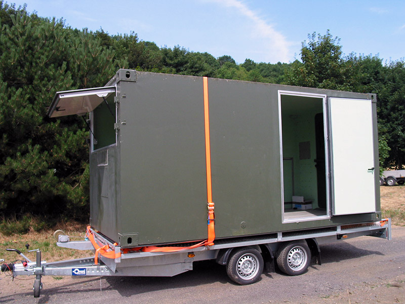bundeswehr shelter als kabine moser fahrzeugbau. Black Bedroom Furniture Sets. Home Design Ideas