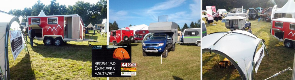 Offroad-Messe / Adventure Northside Walsrode - Messestand