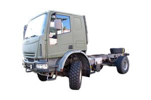 Wohnkabinen / Offroad-LKW - Iveco Eurocargo 4x4