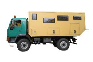 Wohnkabinen / Offroad-LKW - Aufbau: Basis MAN 10.220 L 2000
