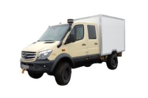 Wohnkabinen / Offroad-LKW - Leerkabine: Mercedes Sprinter