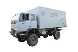 Wohnkabinen / Offroad-LKW - Aufbau: Steyr 12m18