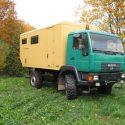 Wohnkabinen / Offroad-LKW - Basis MAN 10.220 L 2000
