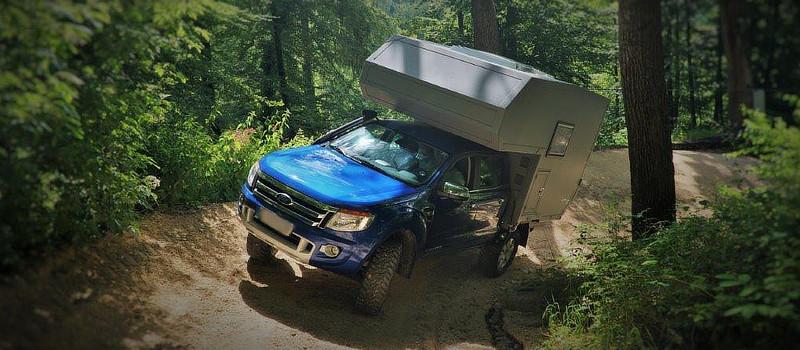 Wohnkabinen / Leerkabinen - Intro - Pickup-Fahrzeug – Basis Ford Ranger
