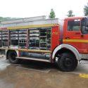 Wohnkabinen / Offroad-LKW - Leerkabine: Mercedes 1222 Allrad - Feuerwehrauto