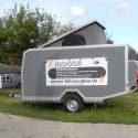 Offroad-Caravan X-Indoor / Produkt: Offroad-Wohnkabine auf Einachser-Fahrgestell / Hubdach
