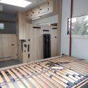 Wohnkabinen / Wohnmobile - Basis Ford Transit mit Zwillingsbereifung und Rollstuhllift - behindertengerecht