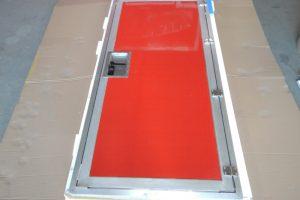 Fahrzeugbau / Wohn- und Leerkabinen – Sonerbau: Eingangstür für Shelter als Bausatz