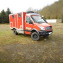 Wohnkabinen / Offroad-LKW - Kabine: Mercedes Sprinter 4x4 Igelhaut