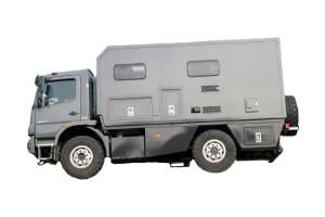 Wohnkabinen / Offroad-LKW – Wohnmobile: Basis Mercedes Ateg