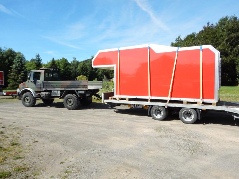 kabine mercedes hauber 2220 moser fahrzeugbau. Black Bedroom Furniture Sets. Home Design Ideas