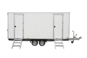 Fahrzeugbau / Sonderbau - Produkt: Dusch- und WC-Anhänger für Brand- und Katastrophenschutz