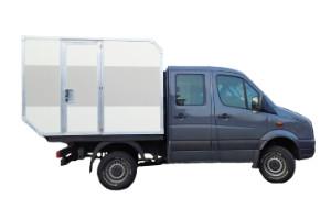 Wohn- und Leerkabinen / Selbstbau – Produkt: Wohnkabine – Basis VW Crafter Allrad Doka